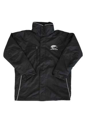 Long Bay College Jacket Black